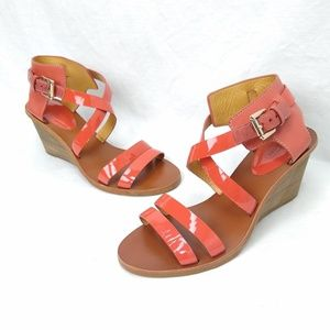 Coach /// Coral Prue Wedge Sandals